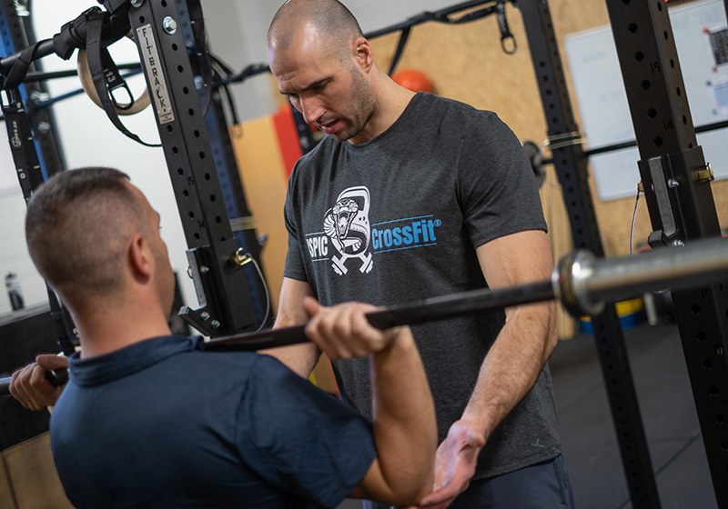 Aspic Crossfit propose aussi du coaching